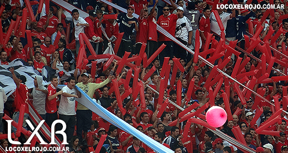 Foto hinchada de Independiente